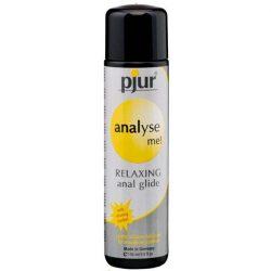 pjur analyse me! szilikonbázisú síkosító, anál használatra (100 ml)