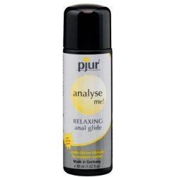 pjur analyse me! szilikonbázisú síkosító, anál használatra (30 ml)