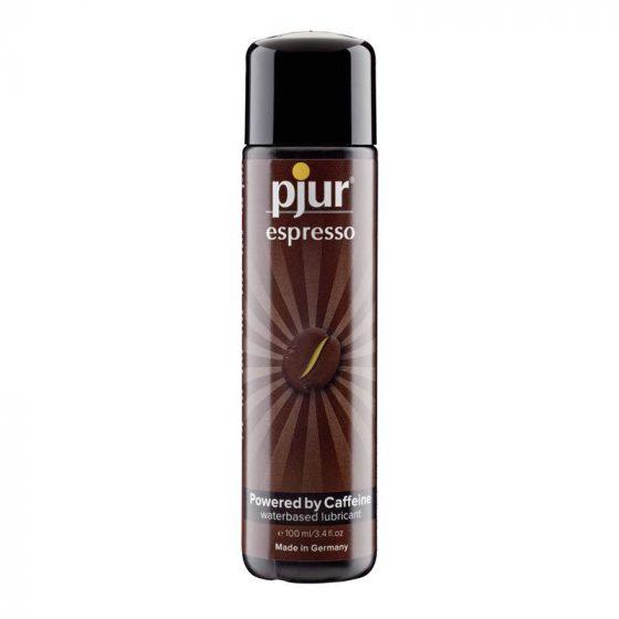 pjur espresso vízbázisú síkosító, stimuláló hatással (100 ml)