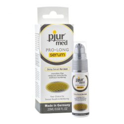 pjur Med Pro-long szérum ejakuláció késleltető gél (20 ml)