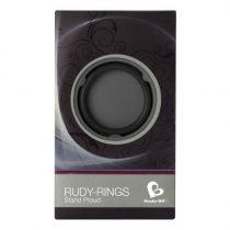 Rocks-Off Rudy-Rings dupla heregyűrű (fekete)