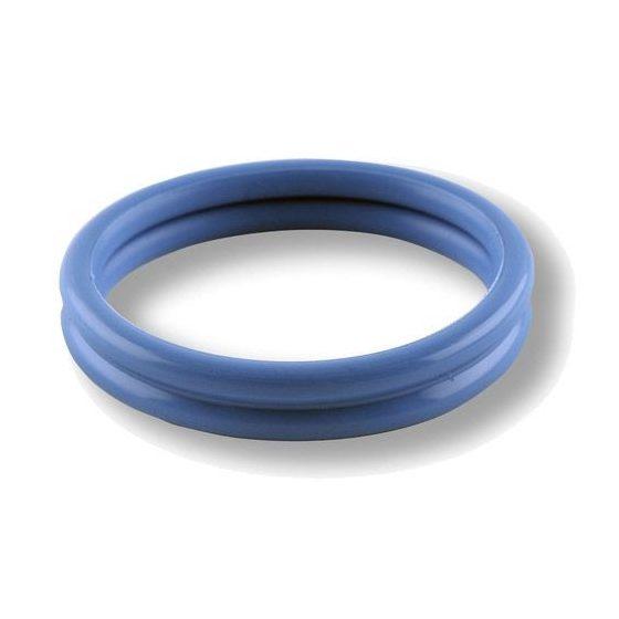 Rocks-Off Rudy-Rings dupla péniszgyűrű (kék)