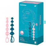 Satisfyer Beads 2 db anál gyöngysor (szines)