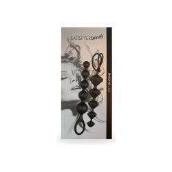 Satisfyer Beads 2 db anál gyöngysor (fekete)