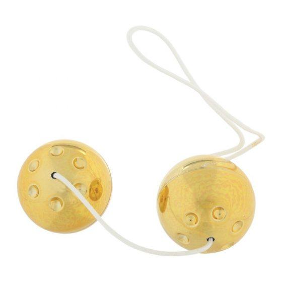 Gold Balls gésagolyó pár