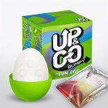 UP & Go Fun Egg Bumpy mini maszturbátor