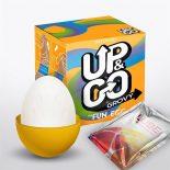 UP & Go Fun Egg Grovy mini maszturbátor