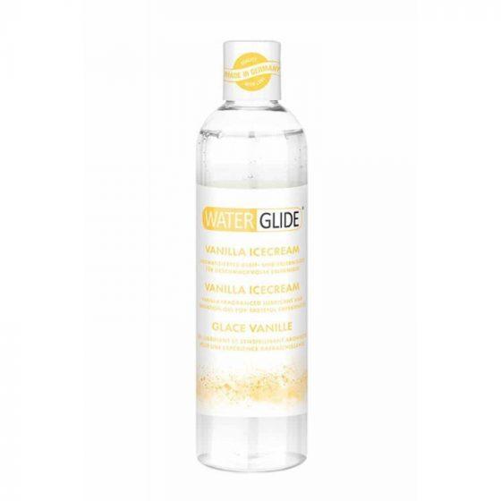 Water Glide Vanilla Icecream vízbázisú síkosító vanília aromával (300 ml)